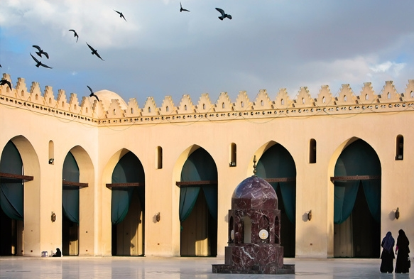 Al Azhar Mosque, A Peaceful Atmosphere
