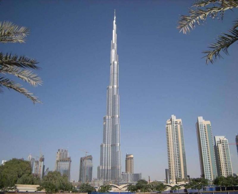 Vue sur la Burj Khalifa