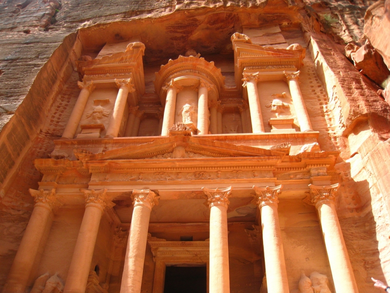 Il Tesoro (Al-Khazneh) di Petra