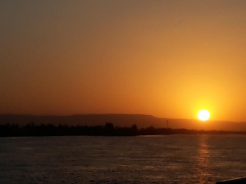 Sunset Views at Aswan