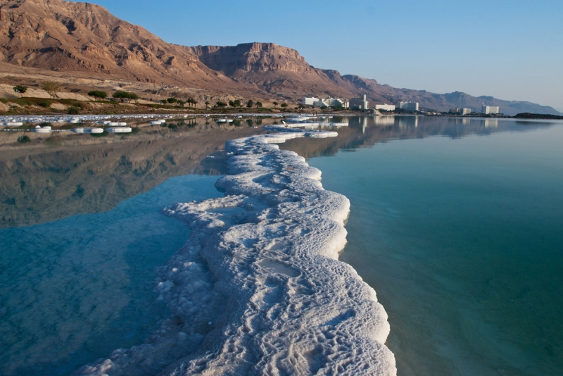 Mar Morto in Giordania