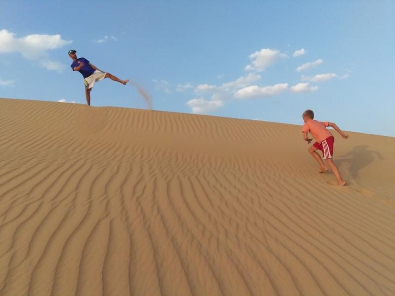 Fun at the Western Desert, Egypt