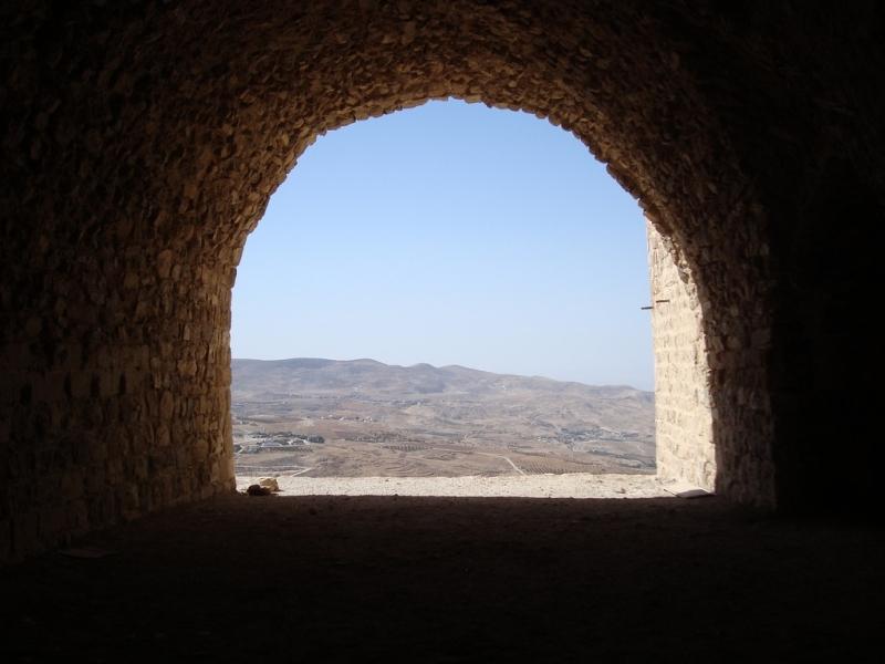 Interno del Castello di Kerak