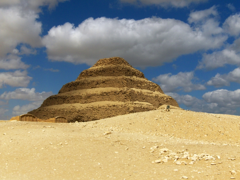 Sakkara Step Pyramids in Giza