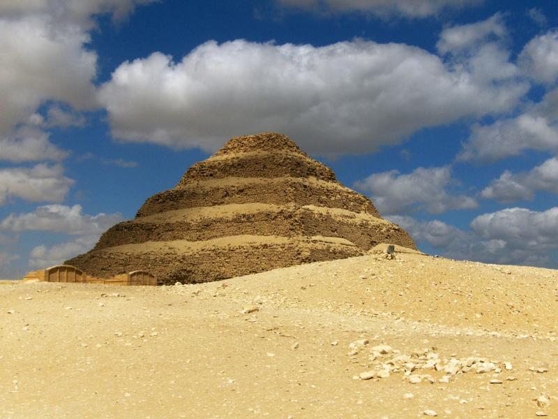 Sakkara Step Pyramids in Giza