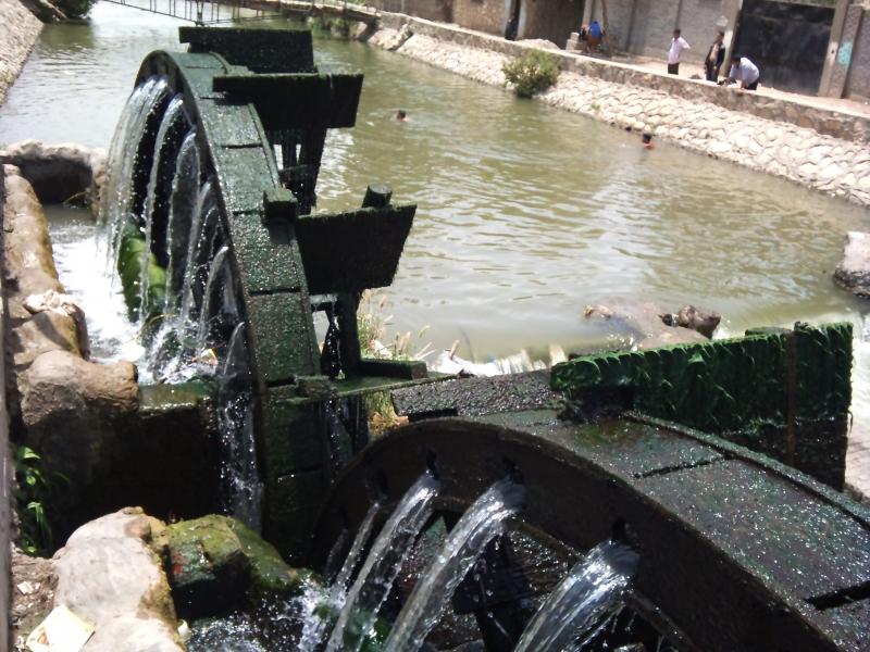 Wasserräder, El Fayoum