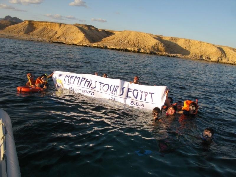 Initiation à la plongée sur l'Île de Tiran