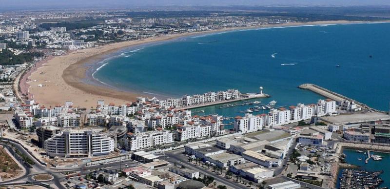 La belleza de Agadir.