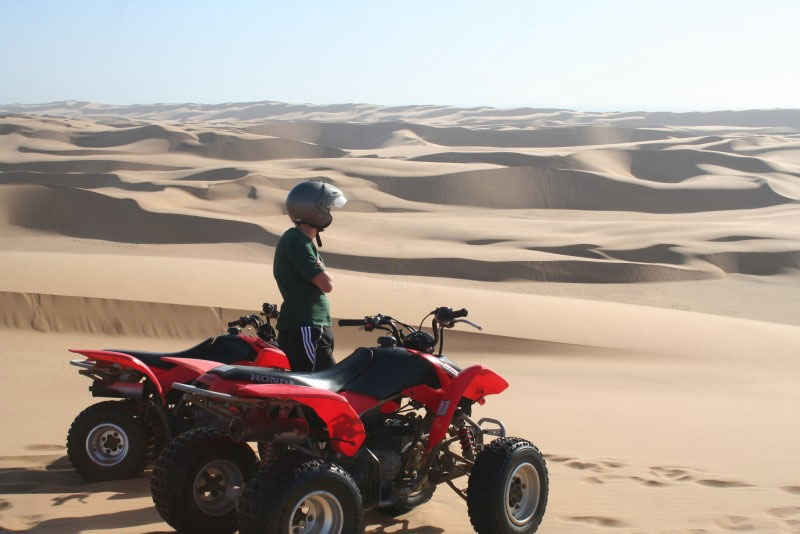 Gita in Quad all'Alba a Luxor