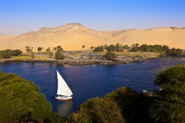 El Río Nilo, Asuán