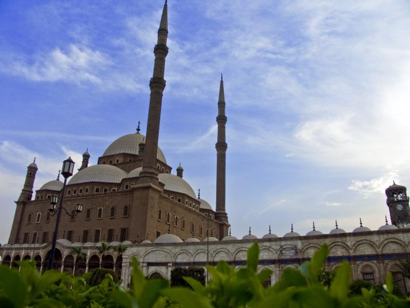 Mezquita de Mohamed Ali por fuera