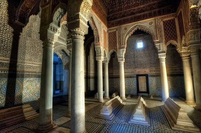 The Saadien Tombs, Marrakech
