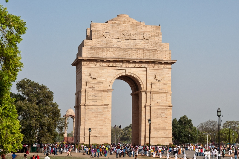 La Puerta de la India, Delhi