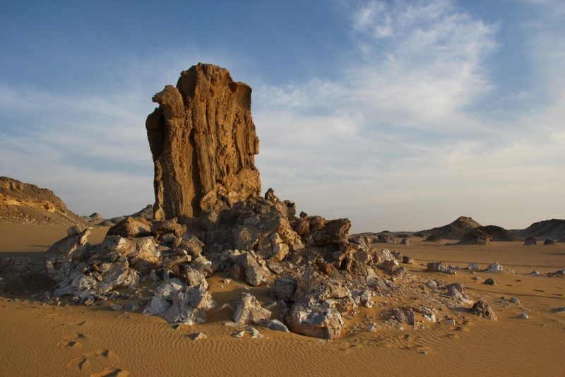 Petrified Tree at White Desert