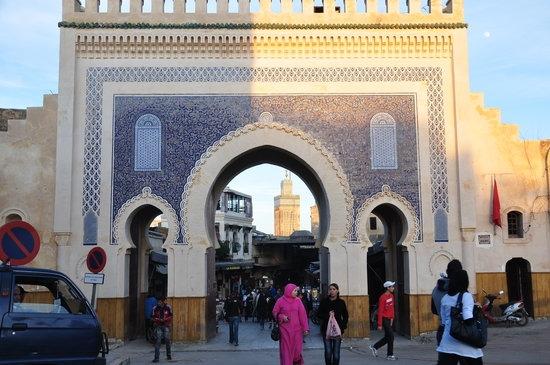 La puerta de Bab Boujloud.