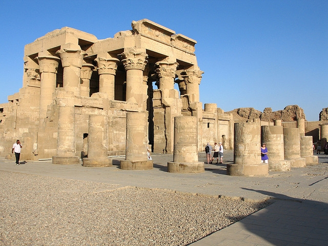 Kom Ombo Temple at Upper Egypt