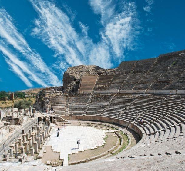 The Grand Theatre in Ephesus