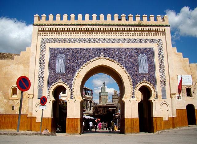 Bab Boujlad, Fez.