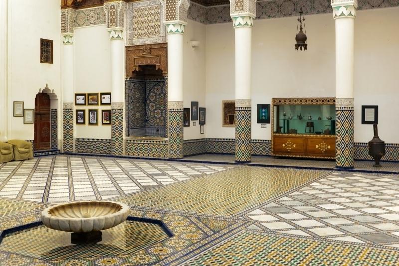 El palacio de bahia, Marrakech