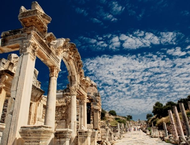 The Temple of Hadrian, Ephesus