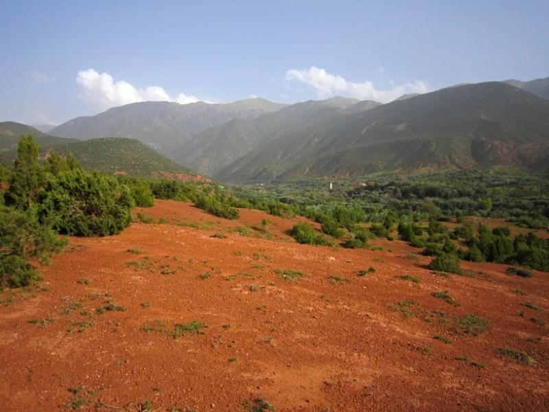 Stunning view for Asni Ouirgane