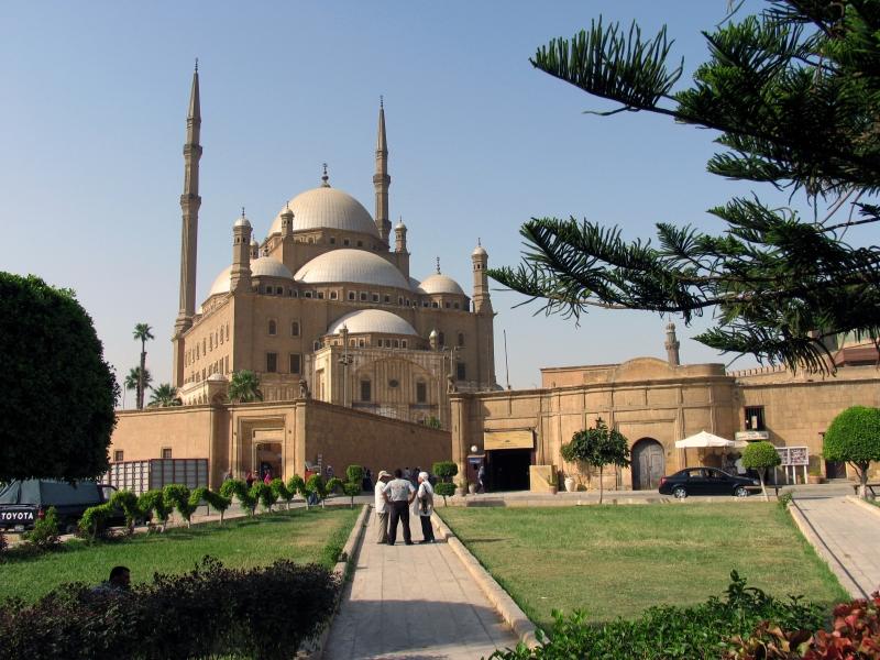Mohamed Ali Moschee, Saladin-Zitadelle