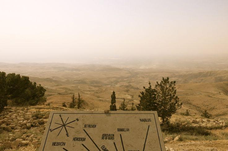 Vista da terra prometida, Monte Nebo