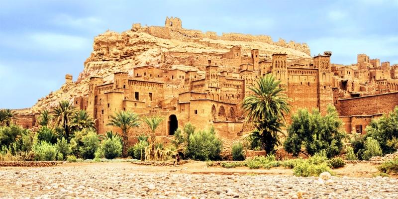 Ait Benhaddou En Marruecos