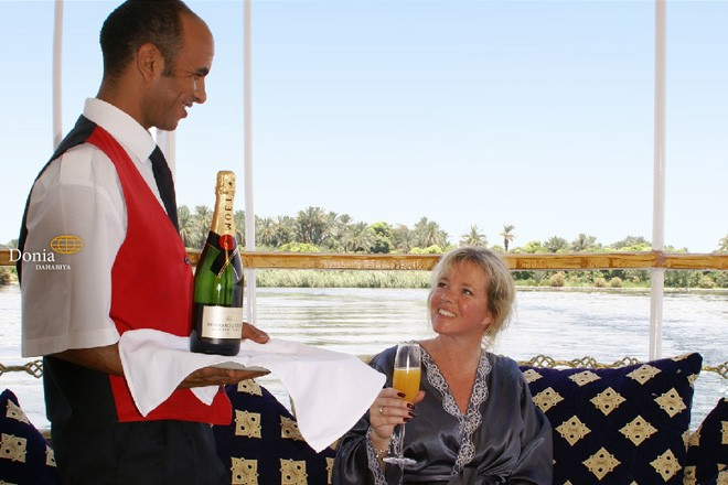 Leisure on board The Nile Boat
