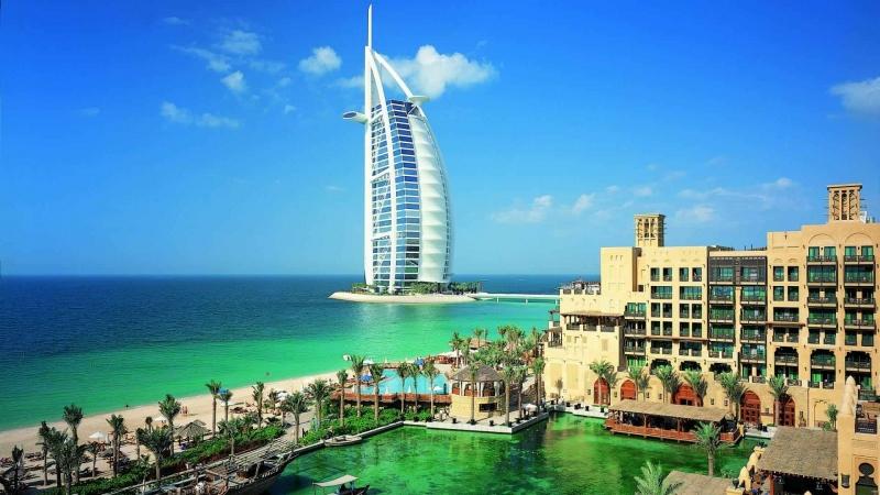 Burj Al Arab, Jumeirah Beach