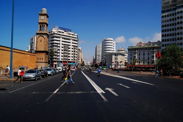 Mohamed V Square in Casablanca