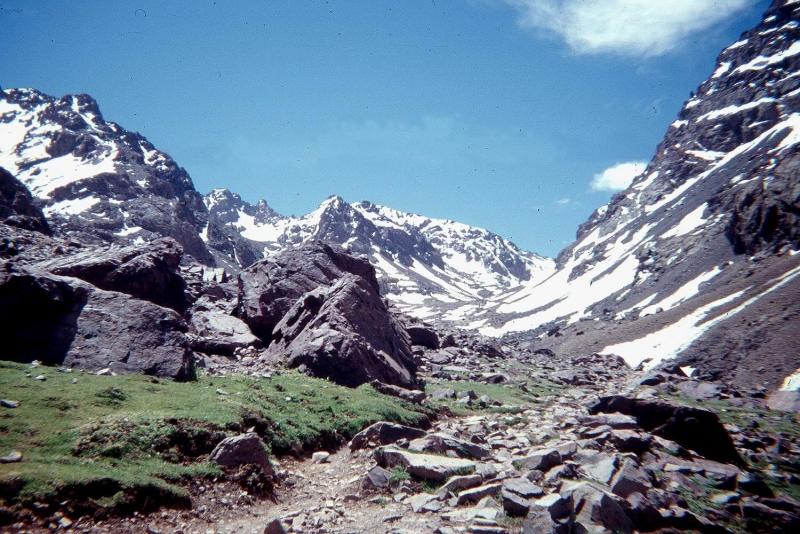Las montañas de Atlas.