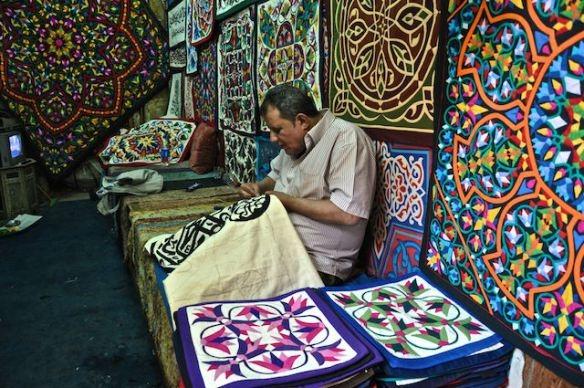 Souk Al Khayamiya | Bazar de Fabricantes de Tendas