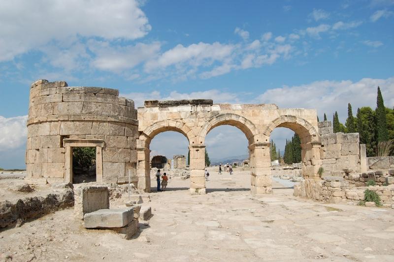 Pamukkale Hierapolis Turkey  Pamukkale (Hierapolis) Antalya Turkey