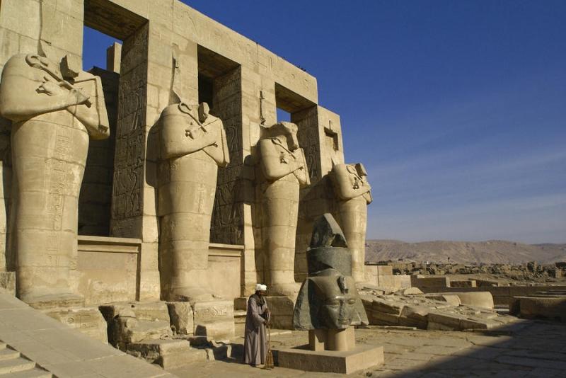 Le Pharaon Ramsès II