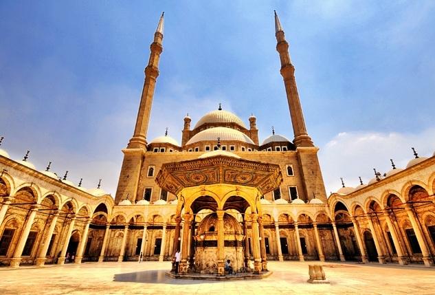 A Mesquita de Mohammed Ali, Egito