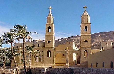 Landausflug zum Antonius- und Paulus-Kloster