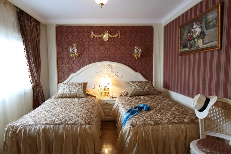 Chambre avec lits jumeaux - Dahabeya Rois