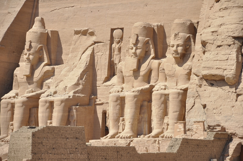 The Sun Temple - Ramses II at Abu Simbel