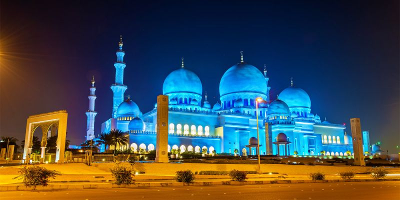 Moschea Bianca Abu Dhabi   Grande Moschea dello Sceicco Zayed