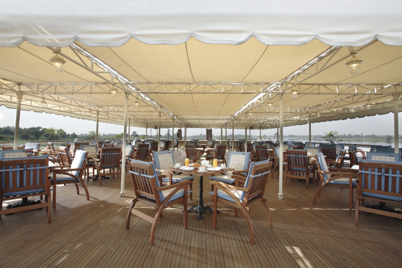 Sonesta St George Nile Cruise Sundeck