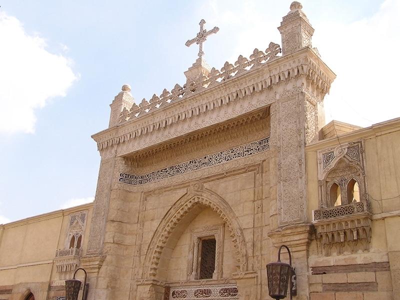 A Igreja Suspensa, Cairo copta