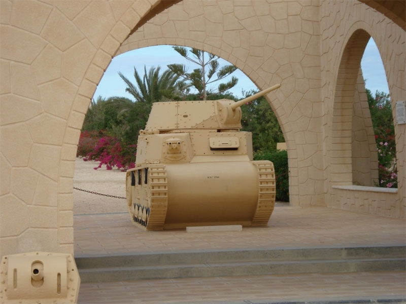 World War Museum in El Alamein