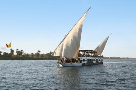 MS Judi Dahabeya Segelboot