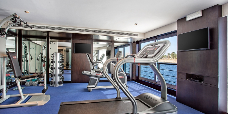 Oberoi Philae Luxury Nile Cruise Gym