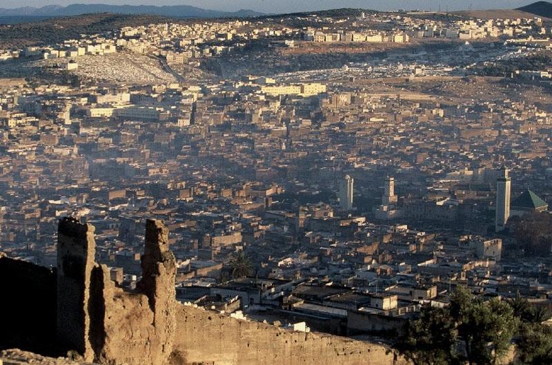 Vista Panoramica della Città di Fes