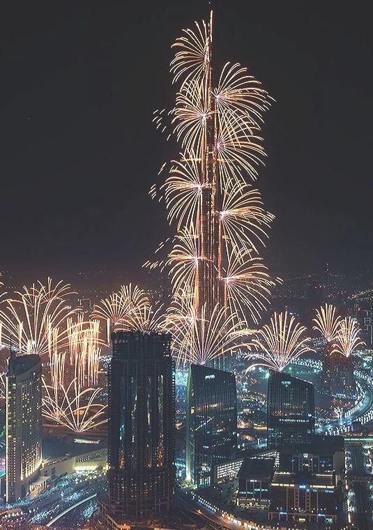 Noite de Ano Novo, Dubai