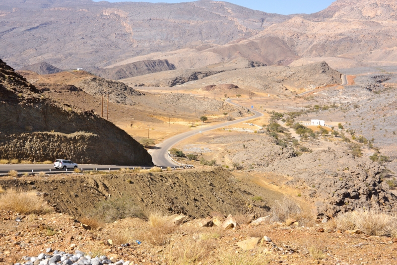 Roads of Jabal Shams