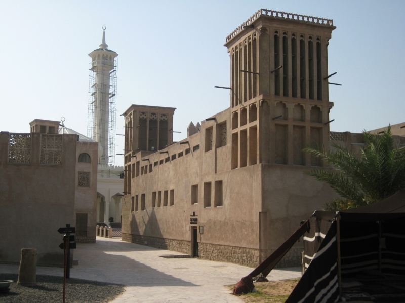 Bastakia District in Dubai