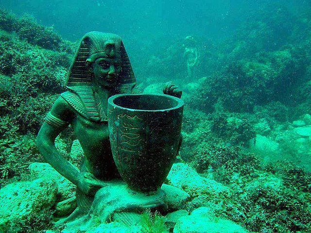 Underwater Museum Alexandria Egypt